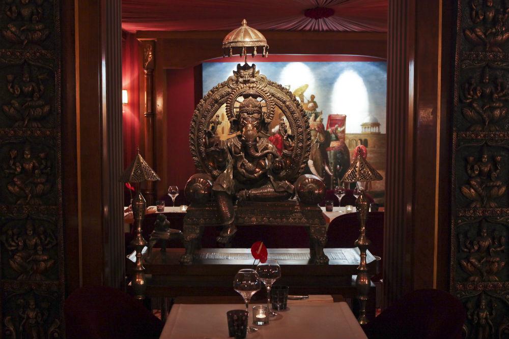 Déco orientale du restaurant aux spécialités cuisine ...